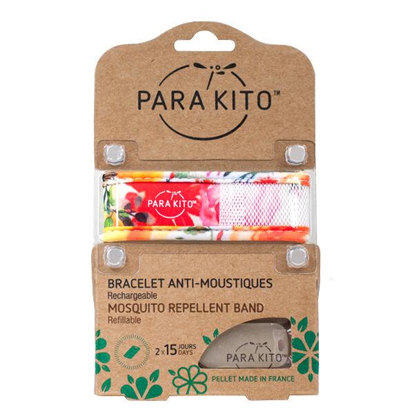 Parakito Bracelet Anti-Moustiques Tropical Trend Flowery 2 pastilles