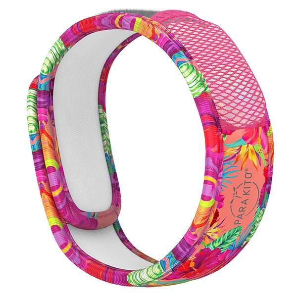 Parakito Graphic Bracelet Anti-Moustiques Summer Time + 2 pastilles