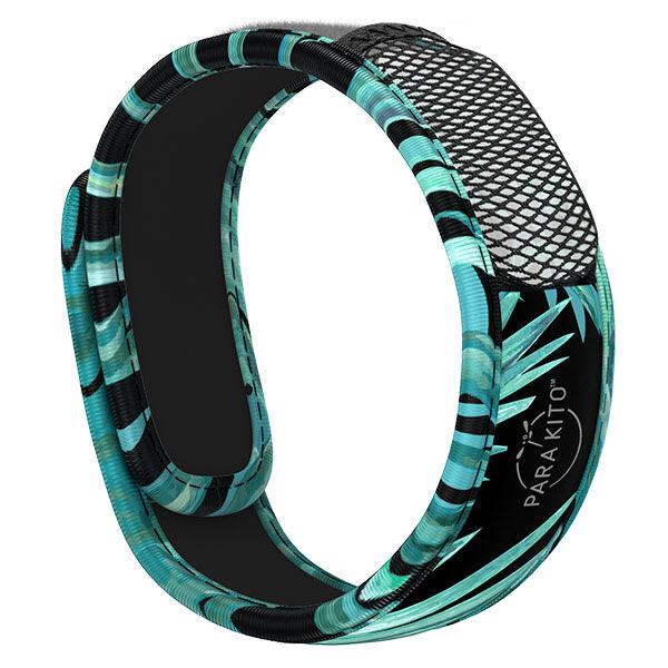Parakito Graphic Bracelet Anti-Moustiques Dark Explorer + 2 pastilles