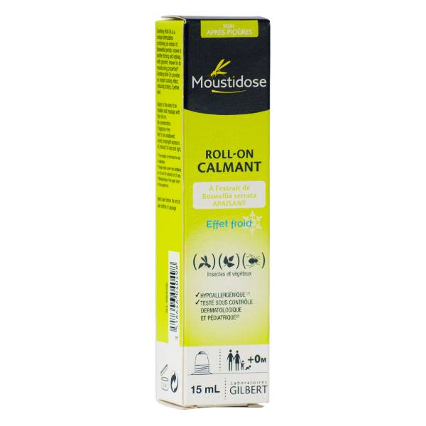 Laboratoires Gilbert Moustidose Roll-On Calmant 15ml