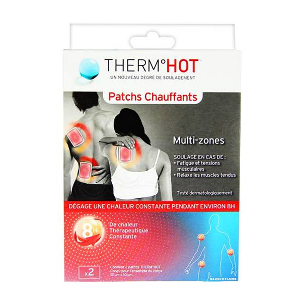 Bausch & Lomb Therm Hot 2 Patchs Chauffants Multi-Zones