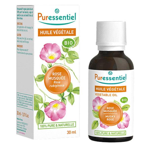 Puressentiel Huile Végétale Rose Musquée Bio 30ml