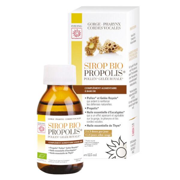 Dayang Sirop Propolis Bio 125ml