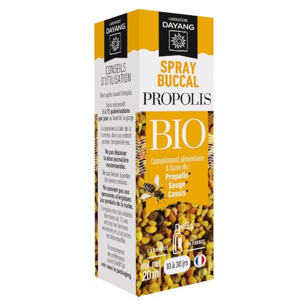 Dayang Spray Buccal Propolis Bio 20ml