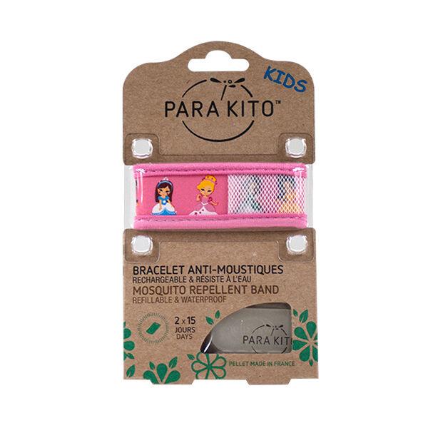 Parakito Kids Bracelet Anti-Moustiques Princess 2 pastilles