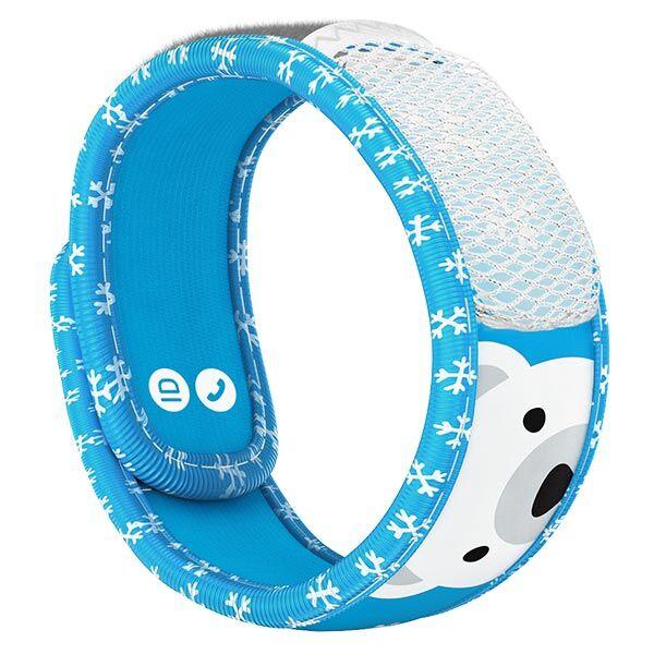Parakito Kids Bracelet Anti-Moustiques Polar Bear + 2 pastilles