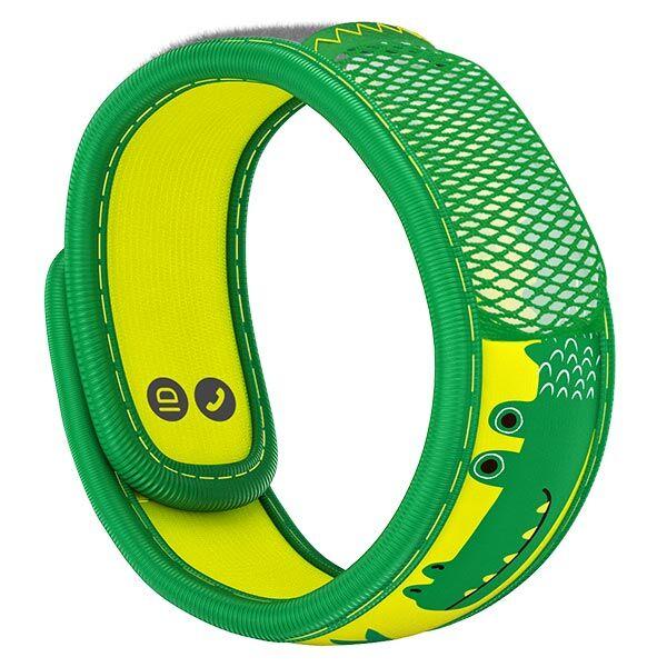 Parakito Kids Bracelet Anti-Moustiques Crocodile + 2 pastilles