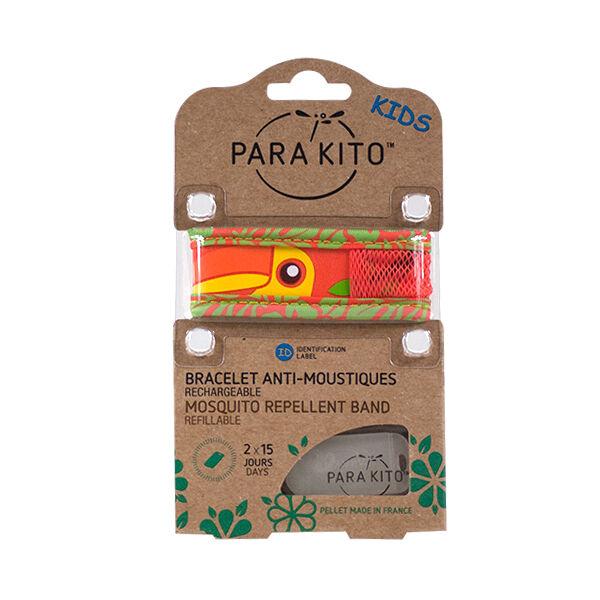 Parakito Kids Bracelet Anti-Moustiques Toucan 2 pastilles