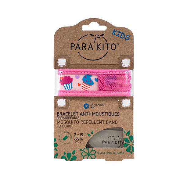 Parakito Kids Bracelet Anti-Moustiques Cupcakes 2 pastilles