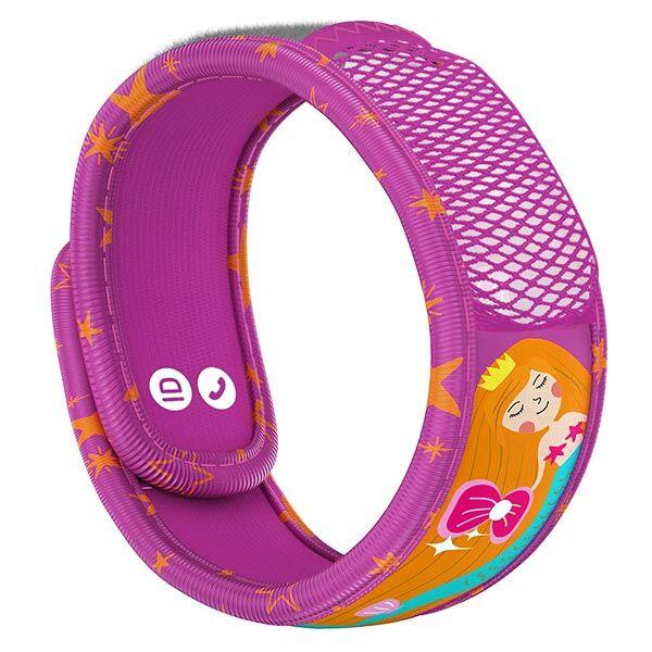 Parakito Kids Bracelet Anti-Moustiques Sirène + 2 pastilles