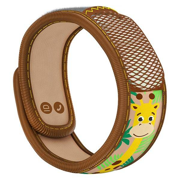 Parakito Kids Bracelet Anti-Moustiques Girafe + 2 pastilles