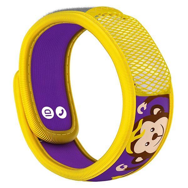 Parakito Kids Bracelet Anti-Moustiques Singe + 2 pastilles