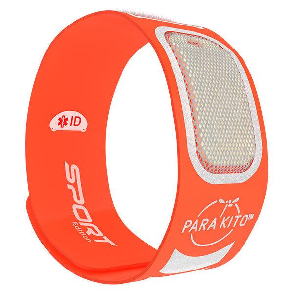 Parakito Sport Bracelet Anti-Moustiques Orange + 2 pastilles