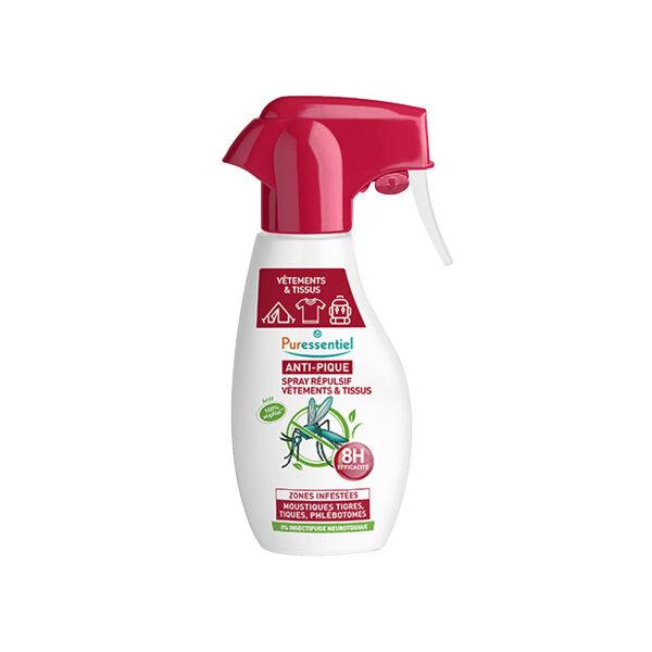 Puressentiel Anti-Pique Spray Répulsifs Vêtements et Tissus 150ml