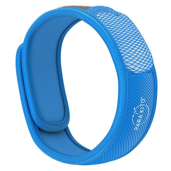 Parakito Color Bracelet Anti-Moustiques Bleu + 2 pastilles