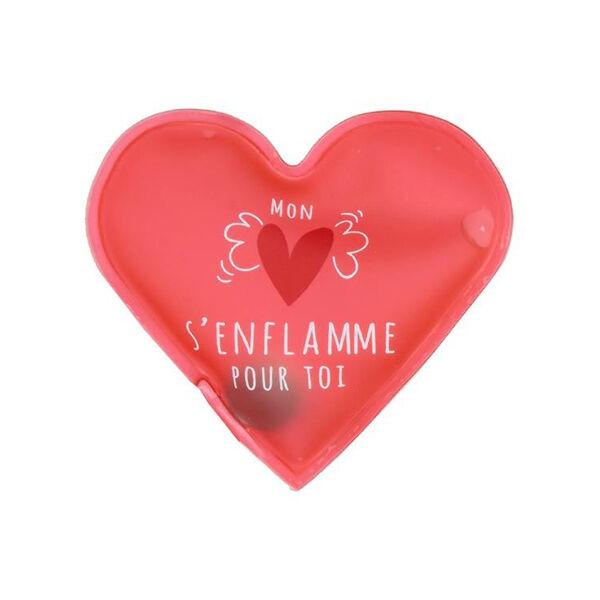 Lysse Matériel Médical Chaufferette de Poche Coeur Mon Coeur s'Enflamme pour toi