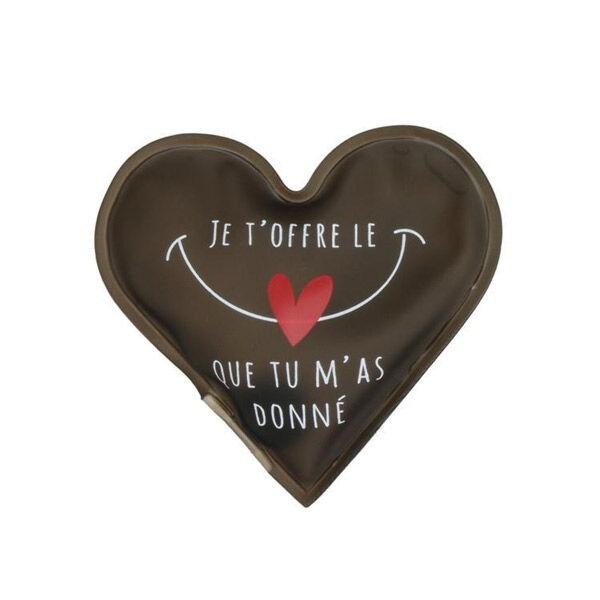 Lysse Matériel Médical Chaufferette de Poche Coeur Je t'Offre le Coeur que Tu m'As Donné