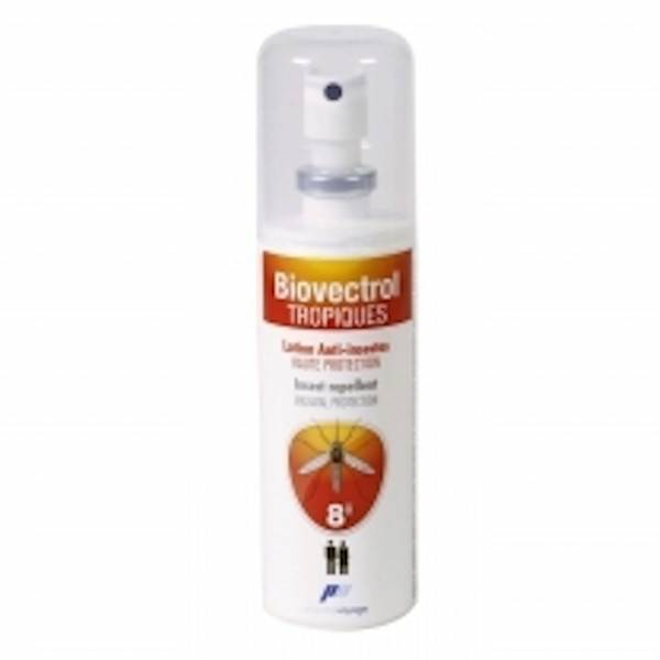 Katadyn Biovectrol Tropique Lotion Anti Insectes Zones Tropicales Pocket spray 30ml