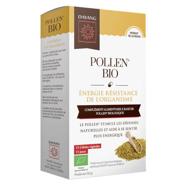 Dayang Pollen Bio Energie Résistance 15 gélules