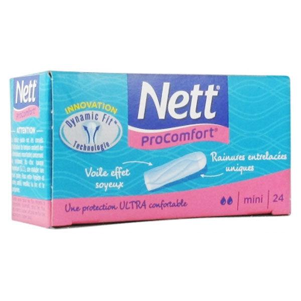 Nett Proconfort Tampons Digitaux Mini 24 unités