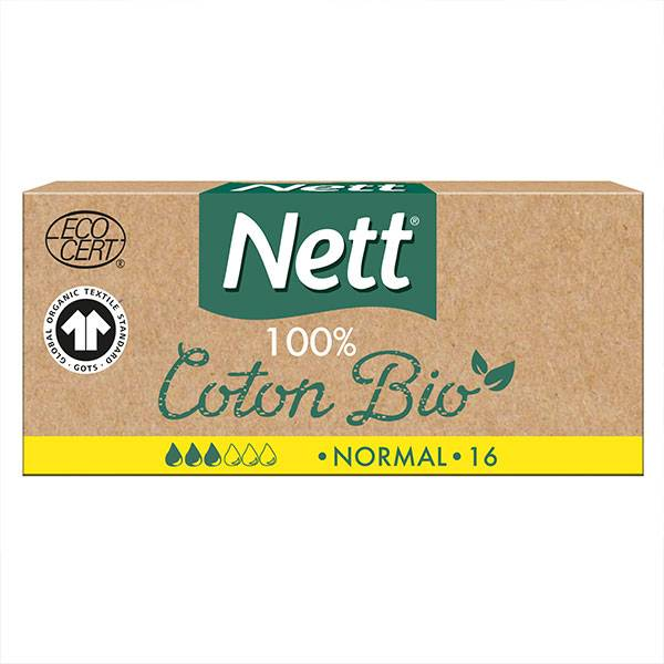 Nett Bio Tampons Digitaux 16 unités