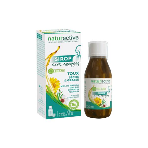 Naturactive Sirop aux Essences 120ml