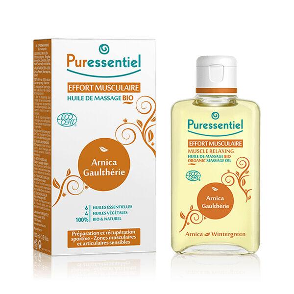 Puressentiel Articulations et Muscles Huile de Massage Bio Effort Musculaire 200ml