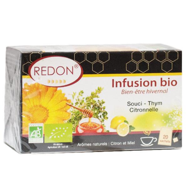 Redon Propolis Redon Infusion Bien-être Hivernal Bio 20 sachets