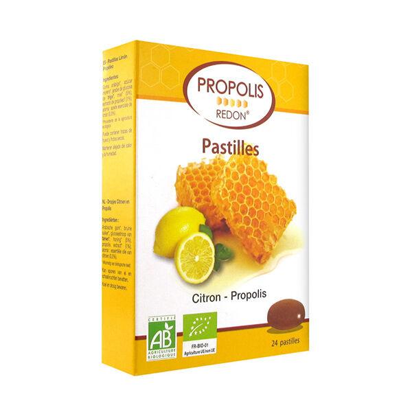 Redon Propolis Pastilles Propolis Citron Bio 24 unités