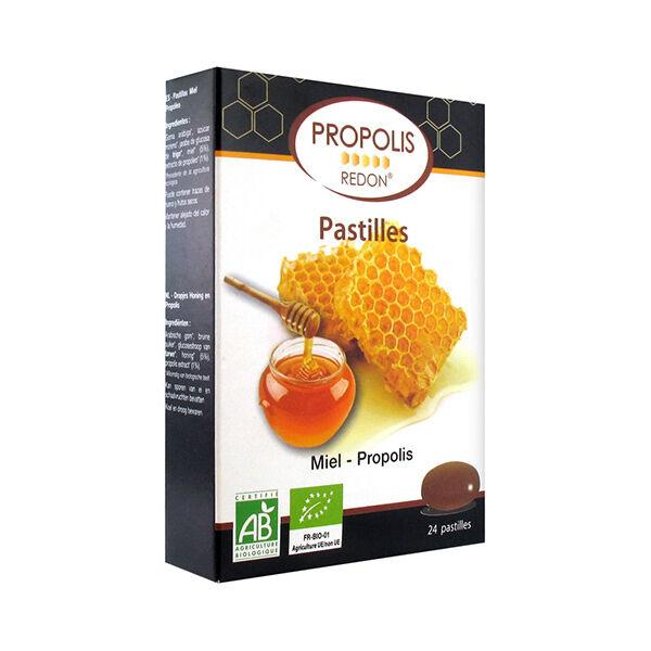 Redon Propolis Pastilles Propolis Miel Bio 24 unités