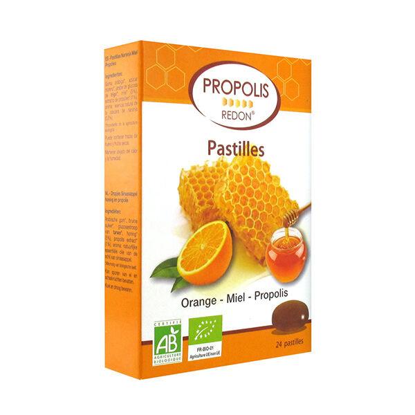 Redon Propolis Pastilles Propolis Orange Miel 24 unités