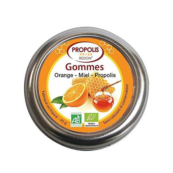 Redon Propolis Gommes Propolis Orange AB Boite 45g