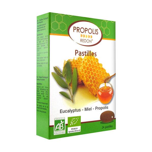 Redon Propolis Pastilles Propolis Miel Eucalyptus Bio 24 unités