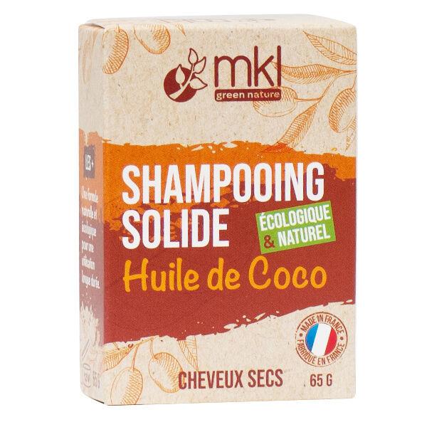 MKL Shampooing Solide Huile de Coco Cheveux Secs 65g