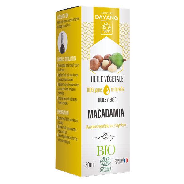 Dayang Huile Végétale Macadamia Bio 50ml
