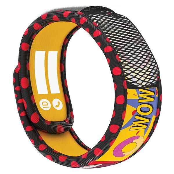 Parakito Teens Bracelet Anti-Moustiques Pop Art + 2 pastilles