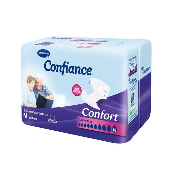 Hartmann Confiance Confort Absorption 10 Gouttes Taille M 14 changes complets