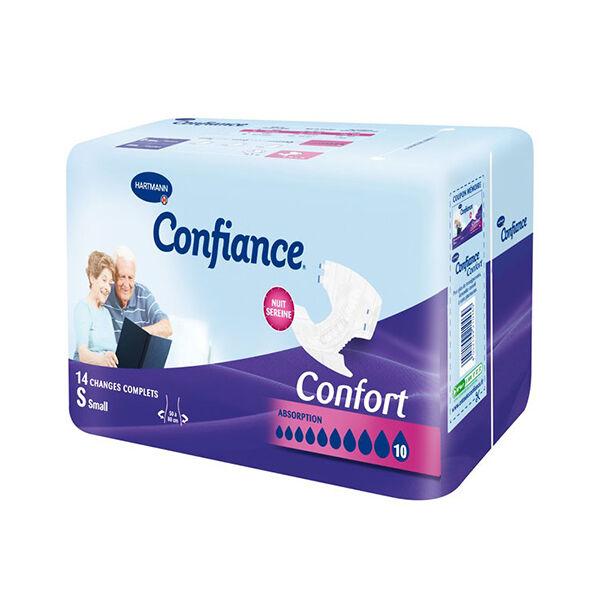 Hartmann Confiance Confort Absorption 10 Gouttes Taille S 14 changes complets