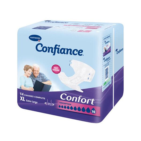 Hartmann Confiance Confort Absorption 10 Gouttes Taille XL 14 changes complets