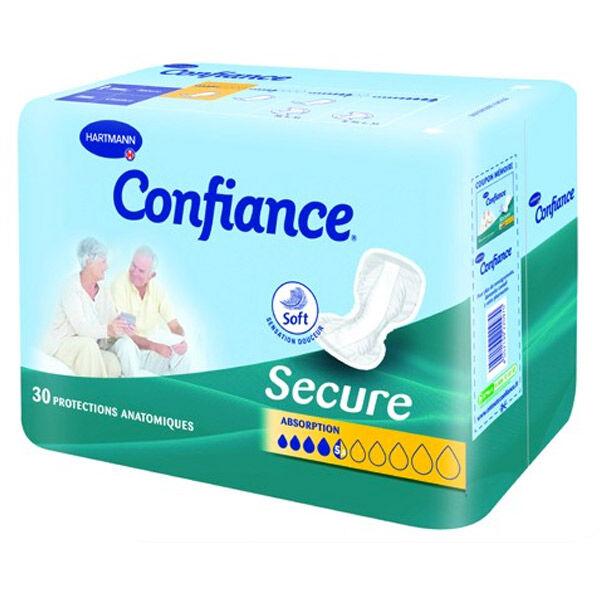Hartmann Paul Confiance Secure Protection Anatomique 5,5 Gouttes Adulte 30 unités