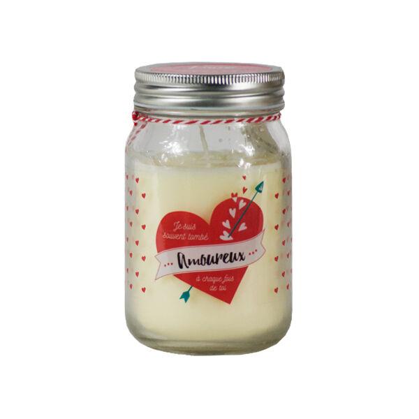 Bougie Parfumée Senteur Fleur de Magnolia Love Forever Amoureux 260g