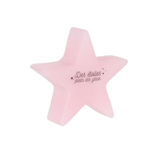 Lysse Baby Veilleuse Étoile Variation Couleurs Enfant Rose