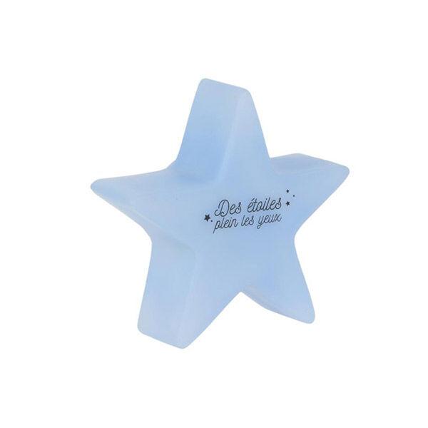 Lysse Baby Veilleuse Étoile Variation Couleurs Enfant Bleu