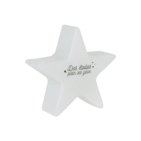 Lysse Baby Veilleuse Étoile Variation Couleurs Enfant Blanc