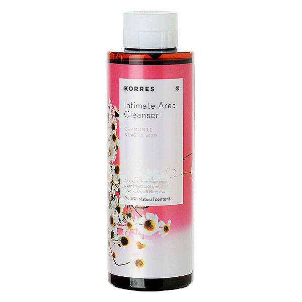Korres Gel Moussant Toilette Intime Camomille 250ml