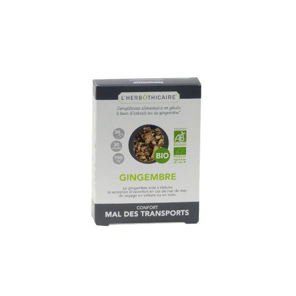 L'Herbôthicaire Gingembre Bio 30 gélules
