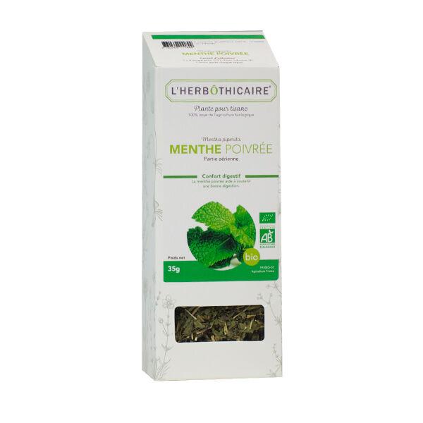 L' Herbothicaire L'Herbôthicaire Tisane Menthe Poivrée Bio 50g