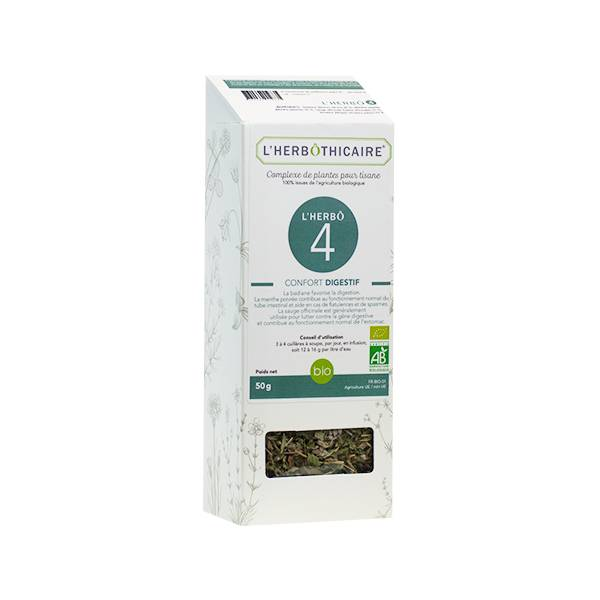 L' Herbothicaire L'Herbôthicaire Complexe Herbo 4 Confort Digestif 50g