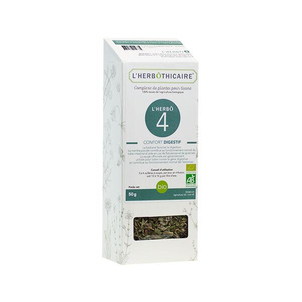 L'Herbôthicaire Complexe Herbo 4 Confort Digestif 50g