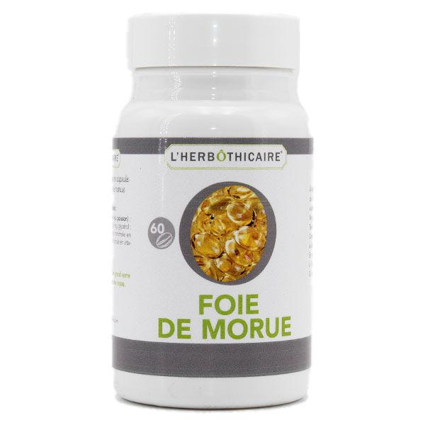 L' Herbothicaire L'Herbôthicaire Foie de Morue 60 capsules